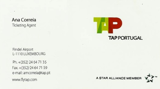 tap luxembourg findel